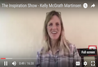 "Have you ever written a letter to yourself? What would it be about if you had to do it now? On today's brand new episode of The Inspiration Show, my guest and author of the book ""A Year of Inspired Living"", Kelly McGrath Martinsen, shares how encouraging her readers to write letters to themselves has helped them develop greater awareness of their relationships and journeys. Don't watch this episode unless you're ready to go deep in self-reflection!"