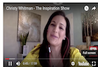 Would you like to discover the secret to career and wealth success? If your answer is yes, then join my very special guest and friend, Christy Whitman, on this powerful episode of The Inspiration Show. Christy is a NY Times Bestselling author and creator of the Quantum Success Coaching Academy; and during the show, you'll learn from her about the Universal forces such as polarity, alignment, resonance, momentum, and magnetism — and how to harness these forces to optimize your wealth and career. Whether your vision of an ideal career is starting your own business, rising to a different position within your current company, or landing your very first job, Christy's wisdom will help you make that vision a reality.