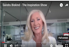 Do you ever go to bed thinking - Why am I here? Why do I feel this way? Is this all there is to life? If you'd like to know the secret to waking up fulfilled and content, then don't miss this fascinating episode of The Inspiration Show, with my special guest Sandra Biskind. During the show, you'll discover unique insights on how to raise your vibration (regardless of what's happening around you), a simple way to tap into your intuition, and the 4 essential life questions that lead to transformation. If you're ready to let go of past programming and behaviors that no longer serve you, then this episode is definitely for you!