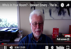 If you had to live in one room, with only one person forever - who would you choose? On this interesting episode of The Inspiration Show, my good friend and thought leader Stewart Emery, discusses the importance of choosing who you let in your room, aka - your life. Watch it now to discover how to set healthy boundaries, especially if you struggle with communication or ending toxic relationships.